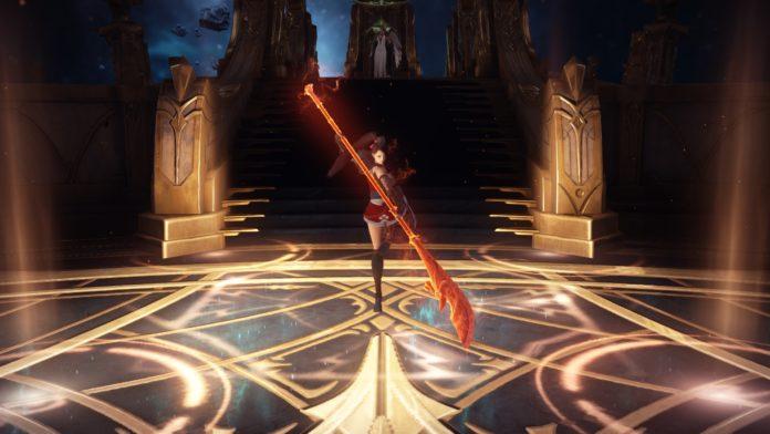 """""""奥義!銀河流星弾!! """"MMORPG「ロストアーク」に新クラス「ランスマスター」登場 - GAME Watch"""