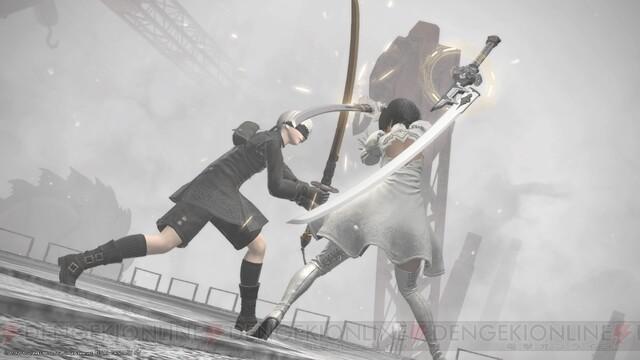"『FF14』""YoRHa: Dark Apocalypse""グラフィックインタビュー前編・職人技で新たに構築された『ニーア』世界 - 電撃オンライン"